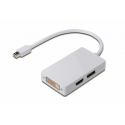 Digitus Adapter mini DP-DP+HDMI+DVI M/F