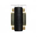 Delock Adapter DVI 24+5pin female / female