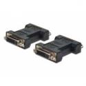 Assmann DVI ADAPTER. DVI245 (DVI adapter, DVI245, Bu/Bu, DVI-I Dual Link, sw)