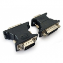 Gembird adapter  VGA(M) -> DVI-A(F), black