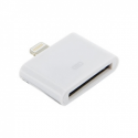 4world Adapter iPhone 30pin to Lightning | iPhone 5/iPad 4/iPad mini|1.0m|white