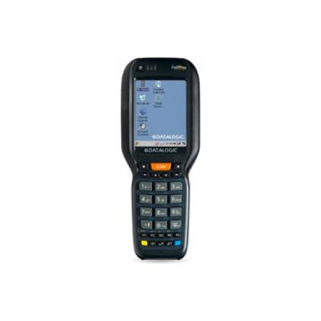 Falcon X3+ Pistol Grip, 802.11 a/b/g /n CCX v4, Bluetooth v2.1, 256 MB RAM/1GB Flash, QVGA, 29-Key Numeric, Extended Range Image