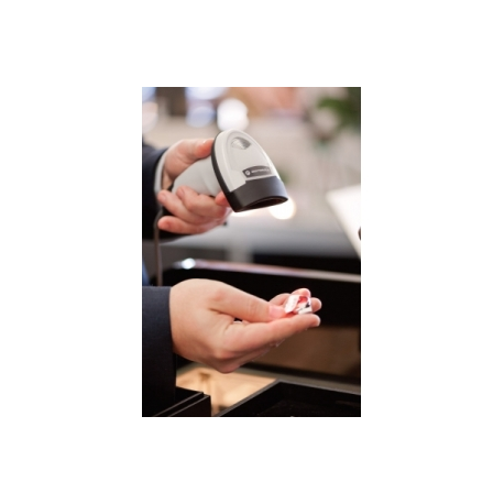 Motorola LI2208 - Barcode scanner - handheld - 547 scan / sec - decoded