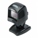 Magellan 1100i, Kit, RS-232 Scanner, Button w/Targeting Green Spot, 2D Decoding, Riser Stand, Power Supply (US), RS-232 DB9 2 m