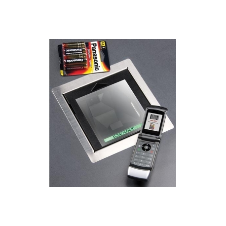Magellan 3300HSi, Kit, RS-232 WN Scanner, 1D/2D Model, Sapphire Glass, Standard Counter Mount, 9D SNI Beetle 4.5 m/15 ft Cable