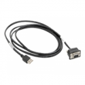 Motorola - Data cable - DB-9 (F) - 4 PIN USB Type A (M) - 1.8 m - for Motorola DS457-HD, DS457-SR