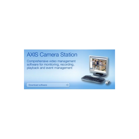 AXIS Camera Station - Upgrade licence - 5 channels - Win - for Network  Camera 205, 210, 2100, 2110, 2120, 2130, 2420