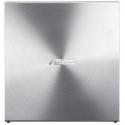 Asus SDRW-08U5S-U, Silver / 8x DVD, 24x CD / Ultra-thin / USB2.0
