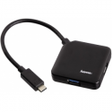 Hama USB 3.0 Type-C Hub 1:4 bus powered black