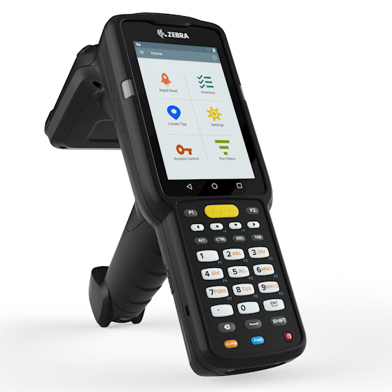 Zebra MC33 series now have models with RFID reader built-in