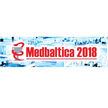 HP un Zebra produkcijai veltīts stends izstādē Medbaltica 2018
